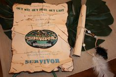 The coolest grandma has the funnest themed parties for her grandkids. Lots of great ideas for your next party.   The High Flying Adventures of Gramma Luvlee: Survivor Party