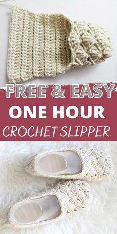 Easy Crochet Slippers, Crochet Boots, Love Crochet, Crochet Clothes, Crochet Crafts, Crochet Yarn, Crochet Projects, Crochet Stitches Patterns, Free Knitting Patterns For Women