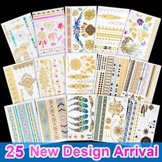 Good pattern Metallic Gold Tattoo Silver Waterproof Temporary tattoos Stickers on the body women Flash Tattoo Stickers men  // Price: $US $0.85 & FREE Shipping //  Buy Now >>>https://www.mrtodaydeal.com/products/good-pattern-metallic-gold-tattoo-silver-waterproof-temporary-tattoos-stickers-on-the-body-women-flash-tattoo-stickers-men/  #OnlineShopping