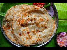 Malabar Paratha Recipe / Kerala Parotta Recipe / How to Make Malabar Parotta - Yummy Tummy