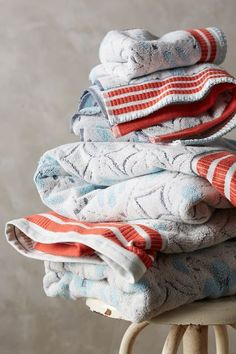 piastrella towel collection #anthrofave