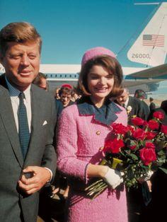 Jackie Kennedy tailleur rose Chanel Esprit de Gabrielle espritdegabrielle.com