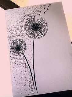 40 Cool and Simple Drawings Ideas To Kill Time - Cartoon District - flowers drawing Pencil Art Drawings, Cool Art Drawings, Doodle Drawings, Art Drawings Sketches, Easy Drawings, Tattoo Drawings, Pencil Sketching, Tattoo Sketches, Drawing For Kids