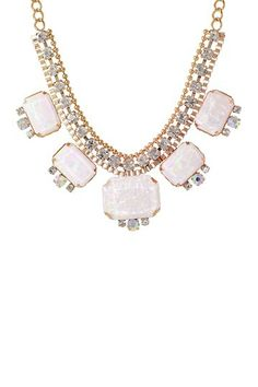 Radiant Opal Chain Necklace by RM Manufacturing Co. on @HauteLook