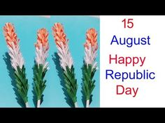 How to make Indian Tricolour Quilling Flower/Lavender paper flower/Independence day/Art Gallery 3d Quilling, Origami Bird, Republic Day, Independence Day, Reuse, Paper Flowers, Lavender, Art Gallery, Indian