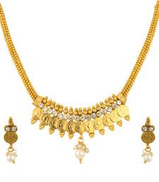 Buy Quail beautiful set of necklace Online