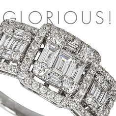 A white gold ring with diamonds is the perfect match for that lucid #fall outfit of yours.