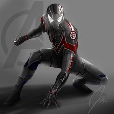 Spider-Man in an Avengers uniform #Spiderman #Fan #Art. (Spiderman for Avengers (MCU) By: Justin485. AWESOMENESS!!!™ Marvel Comics