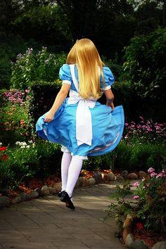 Alice in Wonderland by Wallyspam, via Flickr