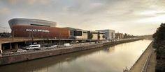 """Docks Bruxsel"" Shopphing Centre in Bruxelles (Belgique) by Art&Build Shopping Malls, Construction, Architecture, Facade, Exterior, Train, Image, Design, Centre"