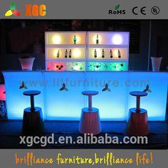 Led Round Bar Table/illuminated Trade Show Display/glowing Pe Table - Buy Led Round Bar Table,Illuminated Trade Show Display,Glowing Pe Table Product on Alibaba.com