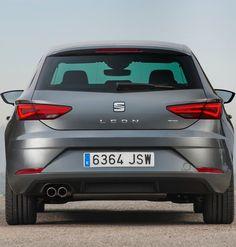 Seat Leon Rear View, Car, Automobile, Autos, Cars