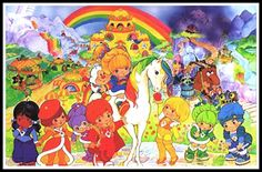 I have the puzzle of this image!   I loved Rainbow Brite! <3