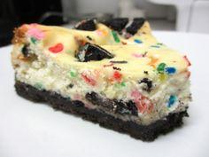 Birthday Cake Oreo Cheesecake