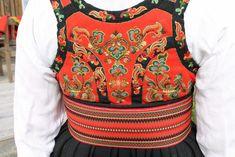 Scandinavian Embroidery, Scandinavian Folk Art, Rosemaling Pattern, Tribal Dress, Wedding Costumes, Color Shapes, Folk Costume, Festival Wear, Social Platform