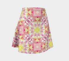 "Flare Skirt ""Wet Paint"" by Juca's Store"