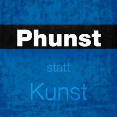 Phunst, blue logo. #phunst #logo #brand #art #fineart # graphicdesign Modern Art, Contemporary Art, Installation Art, Art Day, Insta Art, Abstract Art, Digital Art, Graphic Design, Fine Art