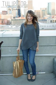 Tulip Top by Blank Slate Patterns. Great info on mods in the blog post.