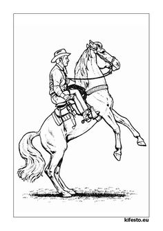 Looking for a Coloriage Imprimer Cheval Avec Cavaliere. We have Coloriage Imprimer Cheval Avec Cavaliere and the other about Coloriage Imprimer it free. Horse Coloring Pages, Coloring Pages For Boys, Colouring Pages, Coloring Books, Kids Coloring, Horse Rearing, Thanksgiving Coloring Pages, Horse Camp, Cowboy Theme