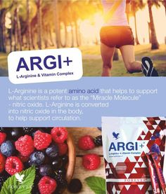L'Arginine + Vitamin complex - this delicious and nutritious sports drink contains five grams of L-Arginine per serving plus vitamins, including vitamin C which contributes to the reduction of tiredness and fatigue. www.my-aloe-vera-store.com