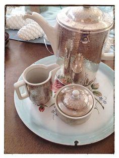 Weiteres - Original Vintage Tee-Service aus den 30er Jahren - ein Designerstück von Siripiri bei DaWanda