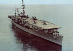 SNS Dedalo (former USS Cabot) in late 1970s