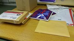 Relaxing by packaging some Disunited Kingdom pre-orders, 'cause that's how we have fun.