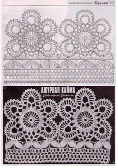 Motiv irische Spitze - irish crochet motif