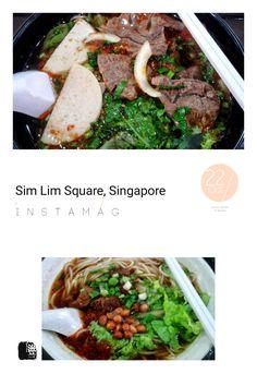 #FD1310 #ChineseFood #VietnameseFood #Noodle  不地道的牛腩粉(下)和也许地道的越南牛肉粉(上),尽在Sim Lim Square 的 Food Court