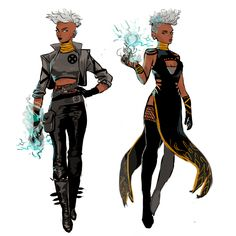 x men the storm tv Superhero Characters, Black Characters, Female Characters, Superhero Suits, Female Superhero, Female Character Design, Character Design Inspiration, Comic Character, Super Hero Outfits