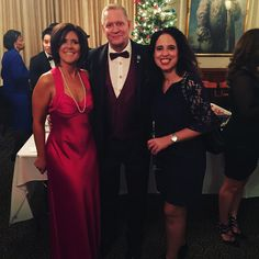 Victoria & Robert Parry, founders of Parry Properties Real Estate Service of Keller Williams NYC with our dear friend Vicki Salemi