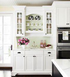 Weiße Küchenschränke für jeden Geschmack - #Küche
