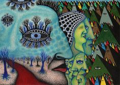 artist Damian Michaels