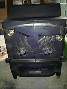 VCI Classifieds   ** SALE PENDING ** FISHER WOOD BURNING STOVE