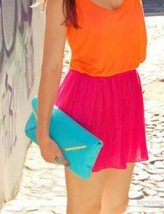 neon fashion chlothing | Neon Clothes for Spring ~ Eight By Five