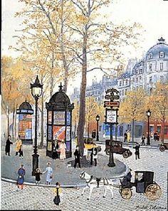 Michel Delacroix  Title: Boulevard des Capucines - Le Paris de ma Jeunesse