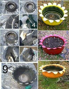 Muy buena idea para plantar arboles