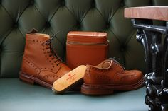 Some of the latest offerings from British brand Grenson from a recent photoshoot in Sunderland