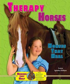 In THERAPY HORSES, read about Michelle, who has special needs, and the therapy horses that helped her. Discover the history of therapy horses, what breeds are used, what being on the job is like for a therapy horse, the training involved, and what happens when therapy horses retire. Learn how these amazing animals help heal people with physical and emotional challenges.