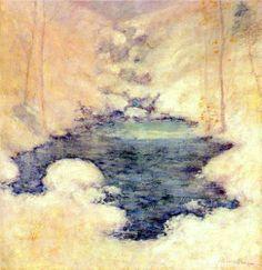 Winter Silence - John Henry Twachtman