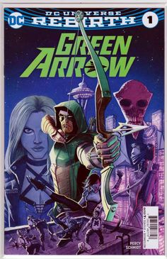 Green Arrow #1 (2016) Wal-Mart Variant Juan Ferreyra Cover,  Otto Schmidt Pencils,  Benjamin Percy Story