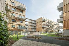 Holzwohnbau Seestadt Aspern, Foto: Hertha Hurnaus