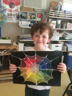 Spiderweb Color Wheel