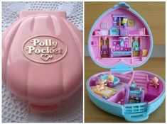 I used to love Polly Pocket & had one! 90s Childhood, Childhood Memories, Step On A Lego, Disney Cups, 90s Toys, 90s Nostalgia, Retro Aesthetic, Vintage Toys, Illustrations
