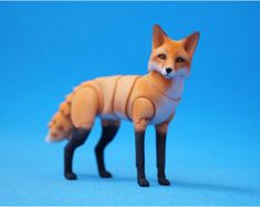 In stock. A Fox BJD. 6 cm at the withers. by ElleoDolls on Etsy Felt Animals, Baby Animals, Fox Toys, Anime Dolls, Dog Paintings, Ooak Dolls, Ball Jointed Dolls, Fantasy Creatures, Creations