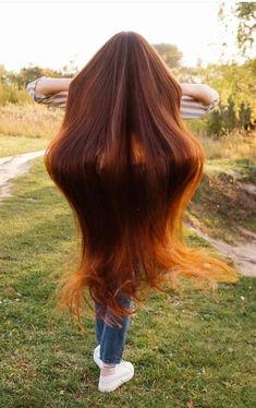 Straight Red Hair, Long Red Hair, Very Long Hair, Beautiful Long Hair, Gorgeous Hair, Simply Beautiful, Ginger Jokes, Dream Hair, Her Hair