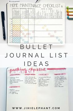 If you are into bullet journaling, chances are you are a list maker or want to be. I love lists so much that I created an entire notebook for my lists and collections. The vast amount of lists and collections you can keep in your journal is amazing and sometimes overwhelming. This post is meant to inspire your list making and provide some examples of these lists to help you get started!