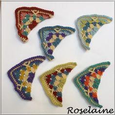 Roselaine Persian Tiles triangles 1