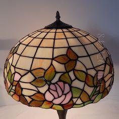 Rose Tiffany Lamp 16S0-85