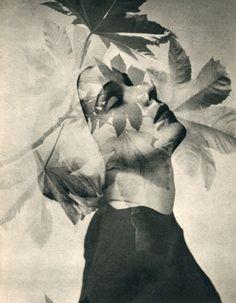 Horst P. Horst - portrait surimpression for Vogue Studio , 1946